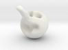 nagy orrú bohóc Deszk 3d printed