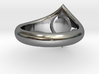 Man Symbol Ring 3d printed