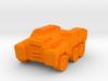 'Broadside' Armored Truck 6mm 3d printed