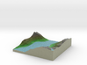 Terrafab generated model Wed Oct 09 2013 16:03:27  3d printed