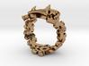 Oni-Gawara Ring 3d printed