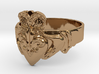 NOLA Claddagh, Ring Size 12 3d printed