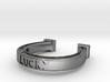 Horseshoe Ring  3d printed