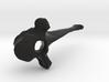 Vertebra 1 60mm With Loop 3d printed