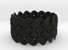Turk's Head Knot Ring 5 Part X 15 Bight - Size 10 3d printed