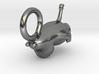 MoominTroll Sleepy Charm15mm 3d printed
