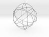 Rhombicage-r0.5-s23-o2-n12-dTrue 3d printed