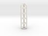 Tritium Lantern 4A (Silver/Brass/Plastic) 3d printed