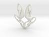 Worldsound Emblem Lapel Clasp 3d printed