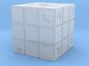 Rubik's Cube Inspired Die 3d printed