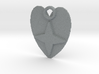 Star heart pendant 3d printed