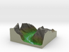 Terrafab generated model Thu Oct 31 2013 13:09:14  3d printed