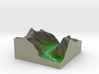 Terrafab generated model Fri Nov 01 2013 15:51:07  3d printed