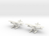 Hawker Osprey (two airplanes set) 1/285 6mm 3d printed