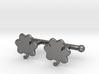 Shamrock Cufflinks Set 3d printed