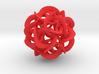 Dodecahedron VIII, medium 3d printed