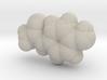 Tylenol molecule (x40,000,000, 1A = 4mm) 3d printed
