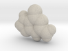 Guanine molecule (x40,000,000, 1A = 4mm) 3d printed