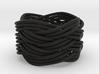 Turk's Head Knot Ring 6 Part X 4 Bight - Size 7 3d printed