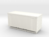 Z Scale 20' Intermodal Container 3d printed