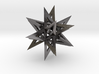 Stellated Icosahedron 3d printed