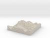 Terrafab generated model Mon Nov 11 2013 10:41:30  3d printed
