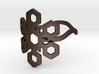 Snowflake Ring 01 3d printed