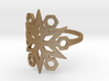 Snowflake Ring 03 3d printed
