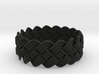 Turk's Head Knot Ring 4 Part X 17 Bight - Size 13 3d printed