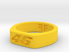 Valentino Rossi - 46 - MotoGP indented ring (20mm) 3d printed