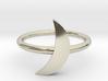 Moon Midi Ring 3d printed