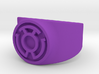 Sinestro Yellow Fear GL Ring (Szs 5-15) 3d printed