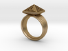 Pyramid Ring 3d printed