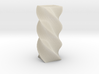 Twisted Poly 4 Cornered Pencil Cup 3d printed