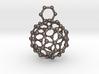 Bucky ball necklace 3r 3d printed Buckyball pendant