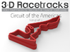 Circuit of the Americas | Topographic 3d printed