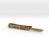 Scalpel Tie Bar (Metals) 3d printed