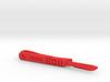 Scalpel Tie Bar (Plastics) 3d printed