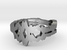 """""""I Love You"""" Sound Wave Ring 3d printed"""