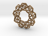 Icosahedron Radial Pendant 3d printed