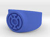 Blue Hope GL Ring Sz 14 3d printed