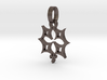 Crucifix star 1 inch 3d printed