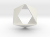 Folded Hexagon 3d printed