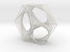 Hexagon Parabolic Curves Straight Lines 3d printed