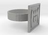 Fang Scarf ring 3d printed