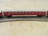 DSB Intercity train T gauge 1:450 (Cars only) 3d printed DSB class B car