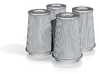 1/25 K&N Cone Style Air Filters TDR 4970 3d printed
