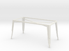 1:24 Pauchard Dining Table Frame, Large 3d printed