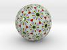 Soccerball Abstract 3d printed