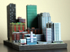 Miami set 1 Art Deco Hotel 3 x 2 3d printed